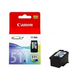 CANON Cartouche encre CL511 Photo couleur 245 pages