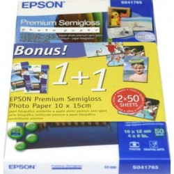 EPSON Papier photo semigloss 10x15