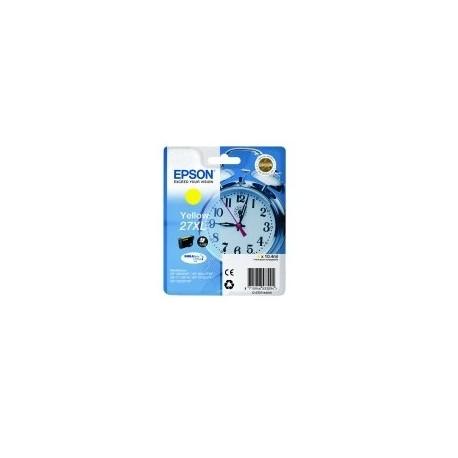 "EPSON Cartouche ""Réveil"" 27XL Encre Durabrite Jaune XL 10,4ml"
