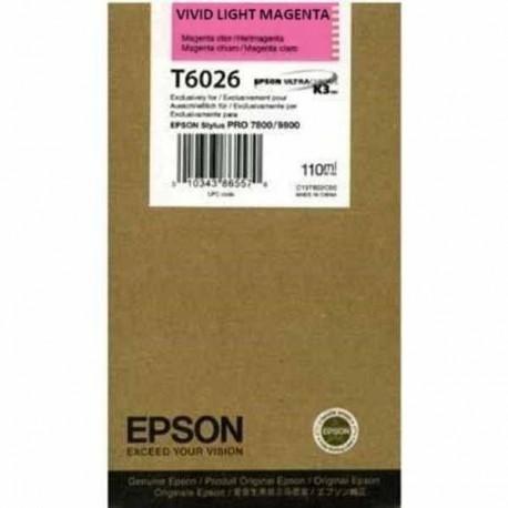 EPSON Cartouche encre Pigment Vivid Magenta clair 110ml