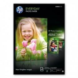 HP Papier photo polyvalent semi-glacé 200 g/m², A4, 100feuilles