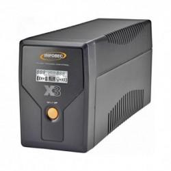 INFOSEC Onduleur Gamme X3 EX LCD USB-1200