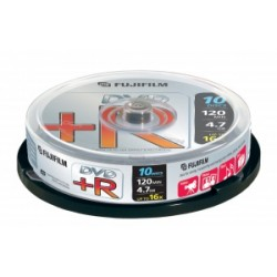 FUJI DVD+R 4,7 Go 16X Data/video spindle de 10 ( 2D130 )