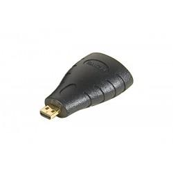 Adaptateur or HDMI a fem vers micro HDMI male
