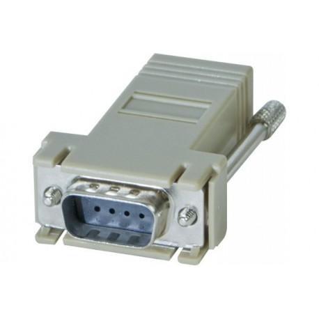 Adaptateur RJ45/DB09m