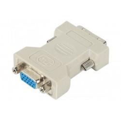 Adaptateur DVI m/VGA f
