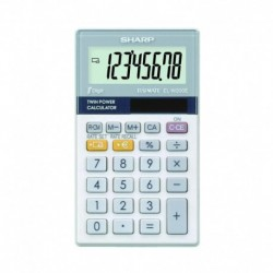 SHARP Calculatrice ELW200E