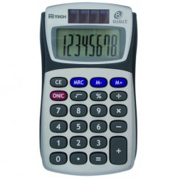 HITECH Calculatrice C1507BL