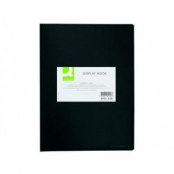 Q-CONNECT Protège-documents 20 pochettes/40 vues noir