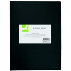 Q-CONNECT Protège-documents 40 pochettes/80 vues noir