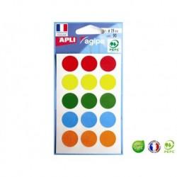 APLI AGIPA 90 pastilles de couleur ø 19 mm