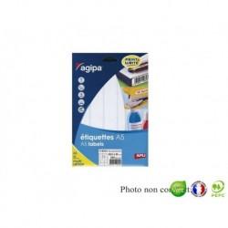 APLI AGIPA Étiquettes de bureau MULTI-USAGES A5 97 x 46 mm