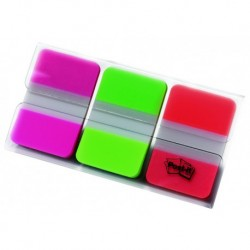 POST-IT Pack de 3 distributeurs INDEX STRONG néon