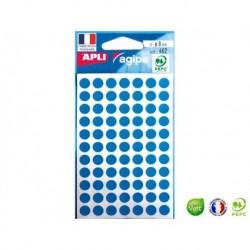 APLI AGIPA 462 pastilles bleues ø 8 mm