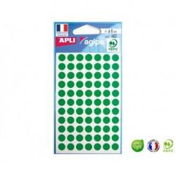 APLI AGIPA 462 pastilles vertes ø 8 mm