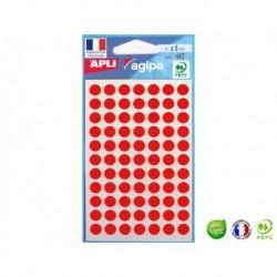 APLI AGIPA 462 pastilles rouges ø 8 mm