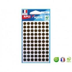 APLI AGIPA 462 pastilles noires ø 8 mm