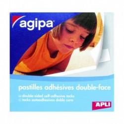 APLI AGIPA Boîte de 250 adhésifs Double Face pour photos