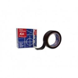 RUBAFIX Toile adhésive MILLE noir 19 mm x 3 m