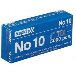Boîte de 1 000 agrafes type n° 10