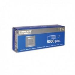 RAPID Boîte de 5 000 agrafes type SP 19 1/4