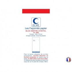 ELVE Bloc maître d'hôtel dupli bleu/rouge 8,5 x 15 cm