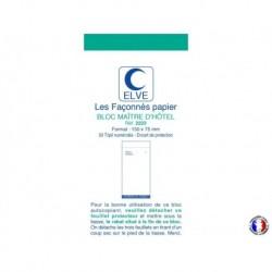 ELVE Bloc maître d'hôtel tripli bleu/rouge/vert 7,5 x 15 cm