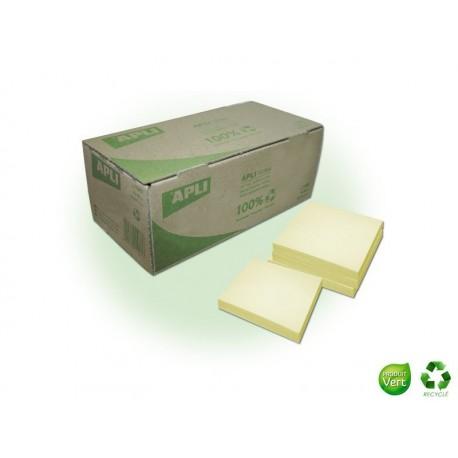 APLI AGIPA Boîte Notes recyclées