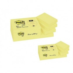 POST-IT Bloc jaune 51 x 76 mm