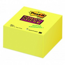 POST-IT Bloc cube Super Sticky