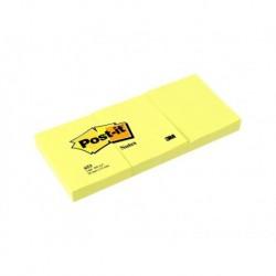 POST-IT Lot de 3 blocs jaune 38 x 51 mm