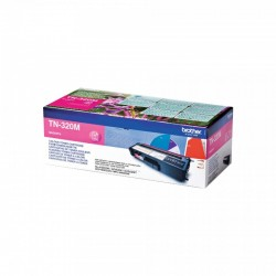 BROTHER Cartouche toner TN320M Magenta 1500 pages