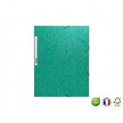 EXACOMPTA Chemise 3 rabats à élastique Scotten vert