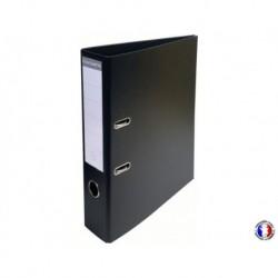 EXACOMPTA Classeur à levier couleur noir dos 7 cm