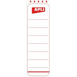 APLI-AGIPA Etiquettes Blanches adhésives Dos 5cm