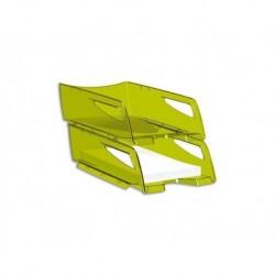CEP Corbeille à courrier Pro 220 Vert translucide