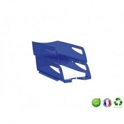 CEP Corbeille à courrier Pro 220 Bleu translucide
