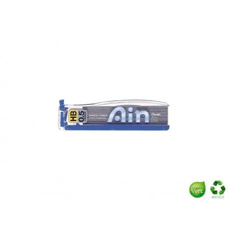 PENTEL Etui de 40 mines Ain recycology 0,5 mm