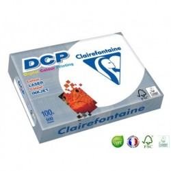 CLAIREFONTAINE Ramette papier DCP A4 100g blanc
