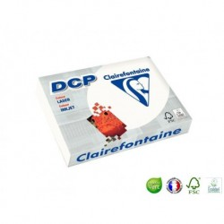 CLAIREFONTAINE Ramette papier DCP A4 250g blanc