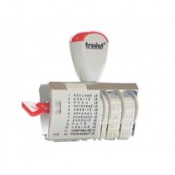 TRODAT Timbre-dateur multiformules à encrage séparé 1117