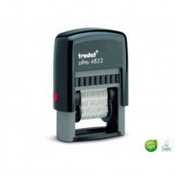 TRODAT Timbre multiformules à encrage automatique secrétariat T4822