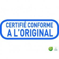 TRODAT Timbre formule X-Print certifié conforme à l'original