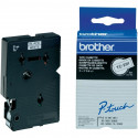 BROTHER Cassette ruban TC291 (7,7m) 9mm Noir/Blanc
