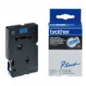 BROTHER Cassette ruban TC591 (7,7m) 9mm Noir/Bleu