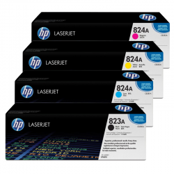 HP Pack Cartouche Toner n°823/824A