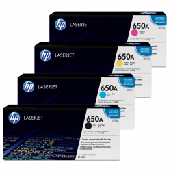HP Pack Cartouche Toner n°650A