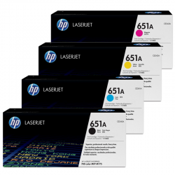 HP Pack Cartouche Toner n°651A