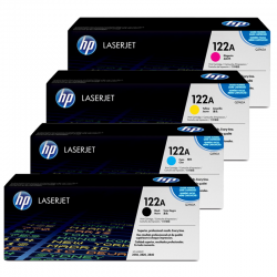 HP Pack Cartouche Toner n°122A