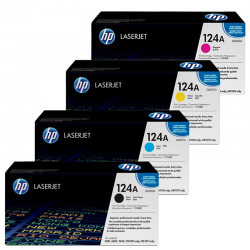 HP Pack Cartouche Toner n°124A
